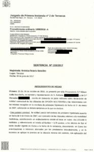 Imagen Sentencia hipotecas multidivisa